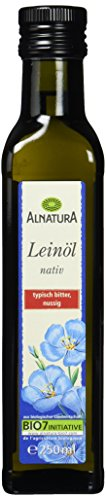 Alnatura Bio Leinöl, 6er Pack (6 x 250 ml)